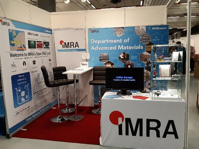 Advanced Materials : IMRA's participation at E-MRS 2019